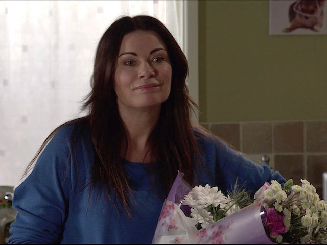 Carla on the second episode of Coronation Street on May 3, 2021