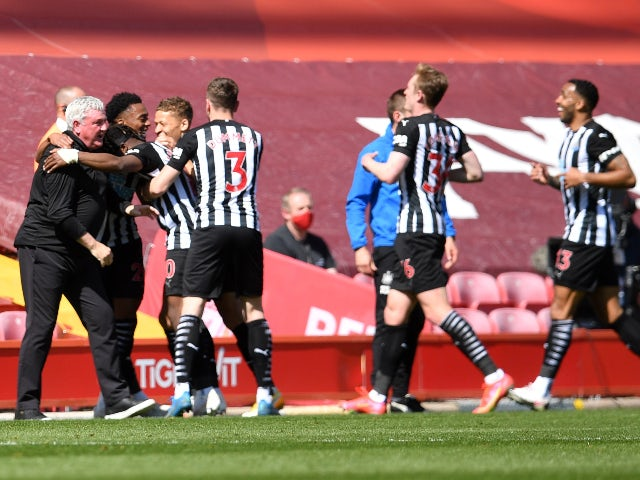 Result: Liverpool 1-1 Newcastle: Joe Willock rescues late point for Magpies