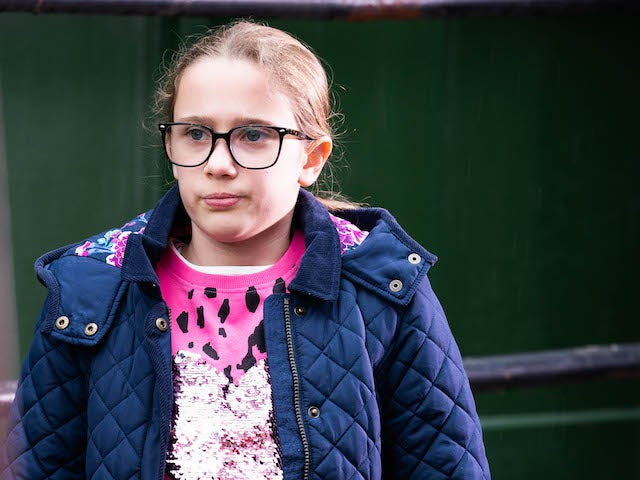 Amy on EastEnders on May 3, 2021