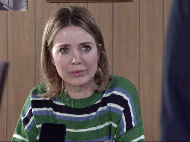 Abi on the first episode of Coronation Street on May 5, 2021