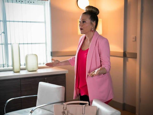 Linda on EastEnders on May 4, 2021