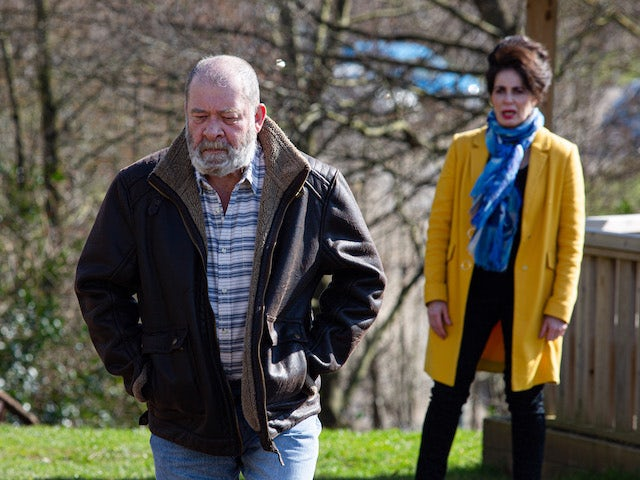 Bear and Faith on the first episode of Emmerdale on May 6, 2021
