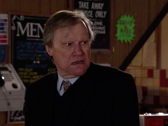 Roy on the second episode of Coronation Street on May 5, 2021