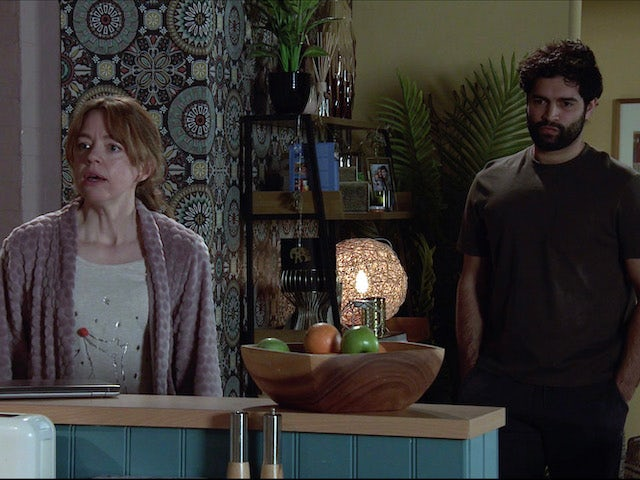 Toyah and Imran on the second episode of Coronation Street on May 5, 2021
