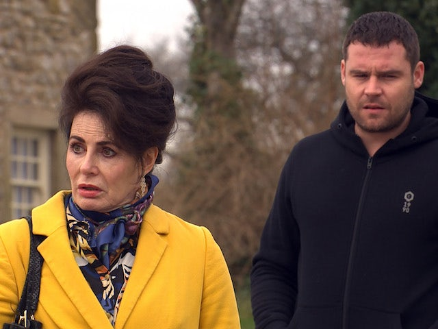 Faith and Aaron on Emmerdale on May 10, 2021