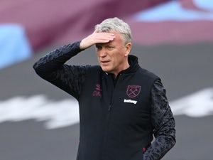 West Ham boss David Moyes trying to act calmer on the touchline