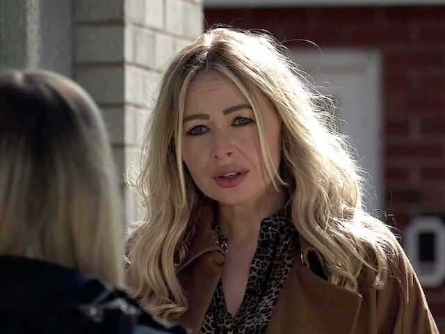 Laura on the first episode of Coronation Street on May 12, 2021