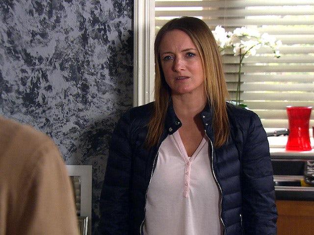 Nicola on Emmerdale on May 11, 2021