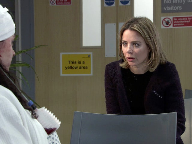 Abi on the first episode of Coronation Street on May 10, 2021
