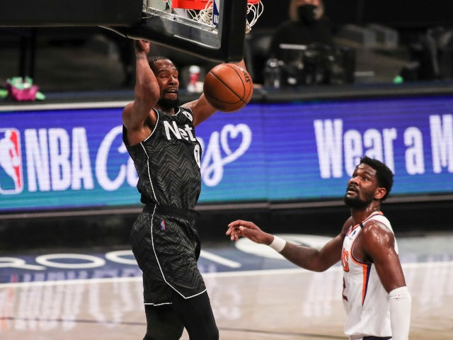 NBA roundup: Kevin Durant stars on and off the court for Nets