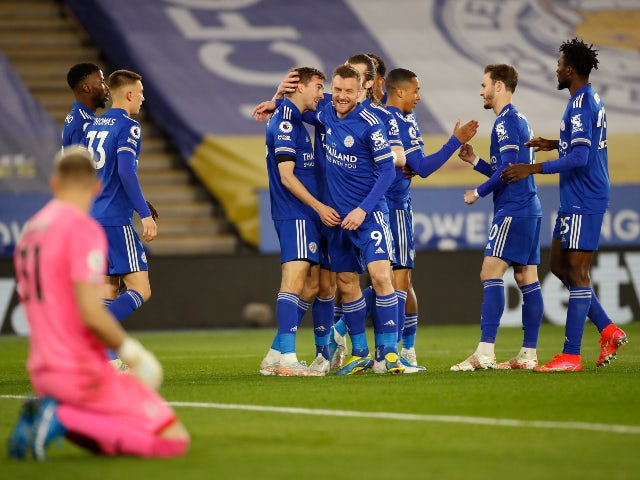 Result: Leicester 2-1 Palace: Kelechi Iheanacho scores late winner for Foxes