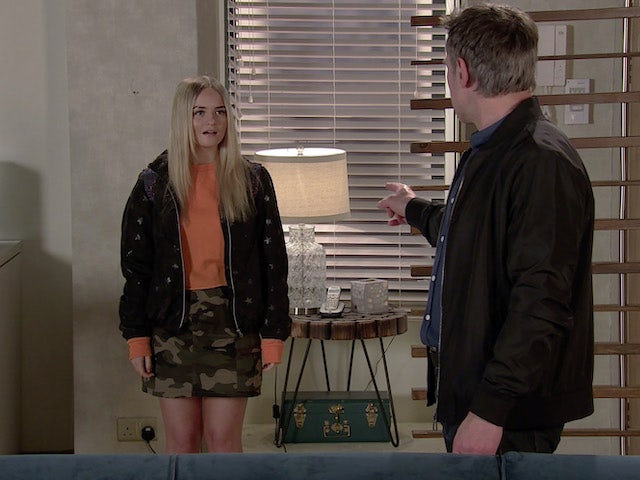 Kelly on the first episode of Coronation Street on May 12, 2021