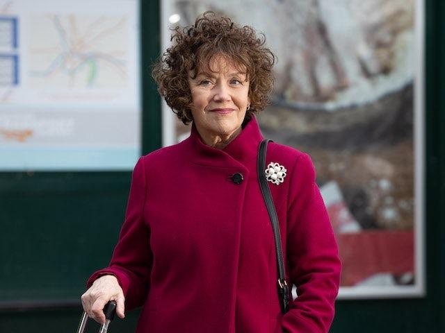 Marian McLoughlin as Sue Morgan in Hollyoaks