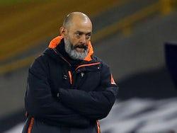 Wolverhampton Wanderers manager Nuno Espirito Santo pictured in April 2021