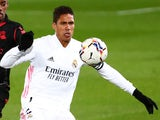Real Madrid's Raphael Varane pictured in March 2021