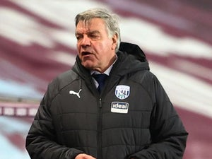 Sam Allardyce remains tight-lipped over West Brom future