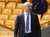 Burnley manager Sean Dyche pictured on April 25, 2021