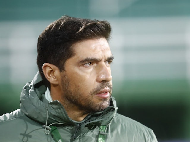 Palmeiras coach Abel Ferreira pictured on May 5, 2021