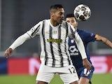 Juventus defender Alex Sandro in action in March 2021
