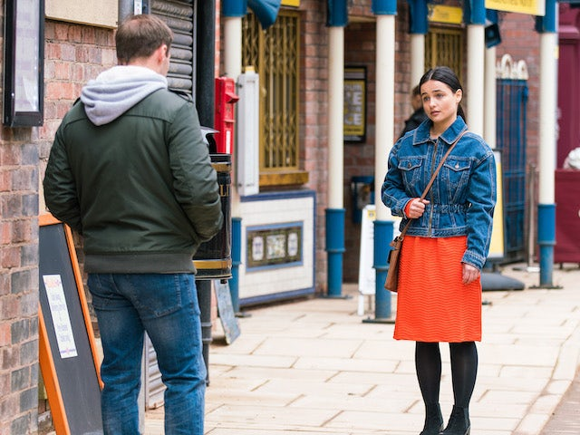 Alina on the first episode of Coronation Street on May 19, 2021