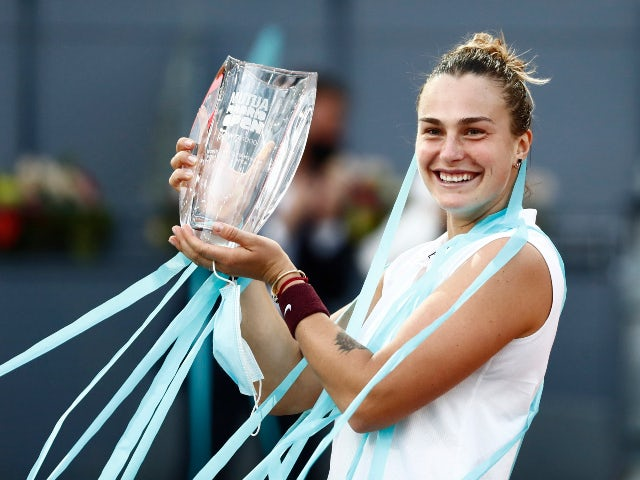 Result: Aryna Sabalenka beats Ashleigh Barty to win Madrid Open title
