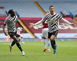 Aston Villa 1-3 Man Utd - highlights, man of the match, stats