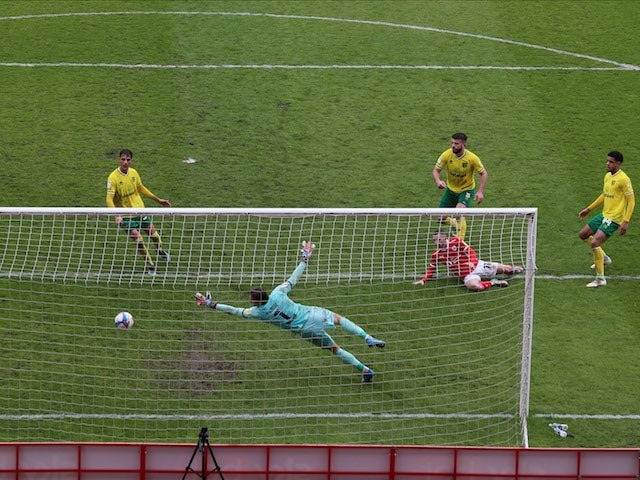 Result: Barnsley 2-2 Norwich: Canaries lift trophy but miss out on record