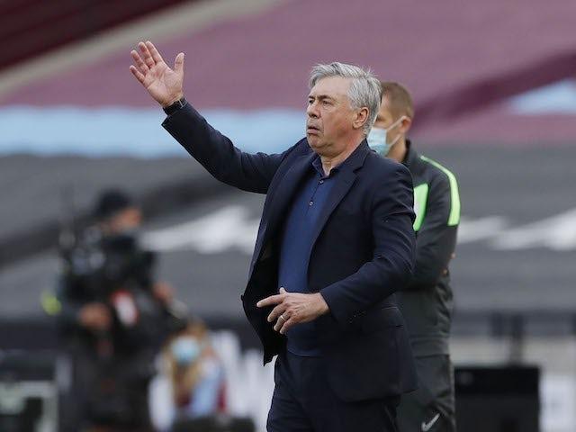 Carlo Ancelotti: 'Everton need a better squad next season'
