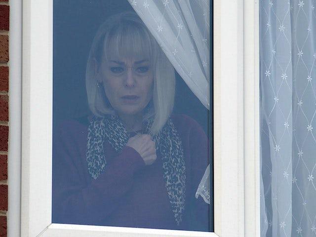 Sharon on Coronation Street on May 21, 2021