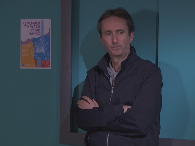 Adrian on Hollyoaks on May 10, 2021