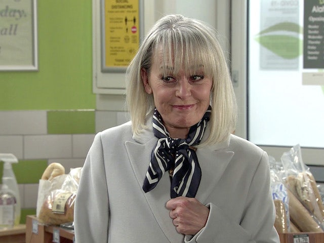 Sharon on the first episode of Coronation Street on May 19, 2021