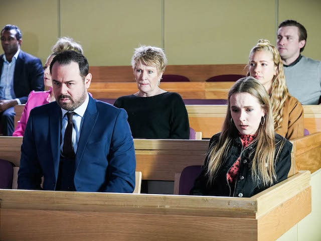 The Carters on EastEnders on May 21, 2021
