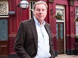 Harry Redknapp on the EastEnders set