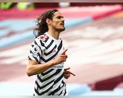 Man United confirm Edinson Cavani extension