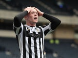 St Mirren's Jake Doyle-Hayes looks dejected after the match on May 9, 2021