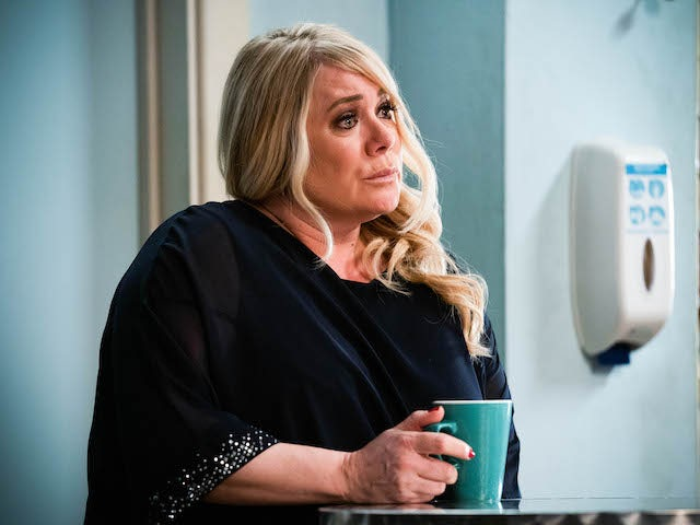 Sharon on EastEnders on May 17, 2021