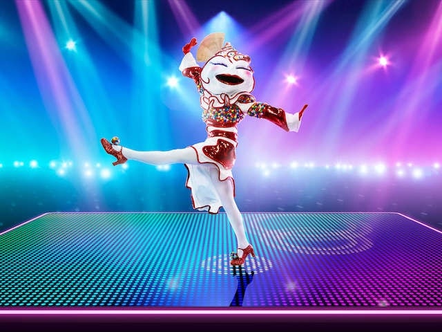 Knickerbocker Glory on The Masked Dancer series one