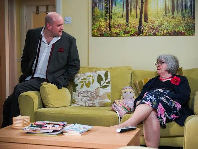 Stuart and Vi on EastEnders on May 14, 2021
