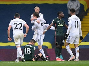 Leeds 3-1 Tottenham: Whites dent Spurs' Champions League hopes
