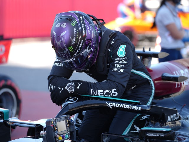 Saturday's sporting social: Lewis Hamilton hailed following 100th pole position