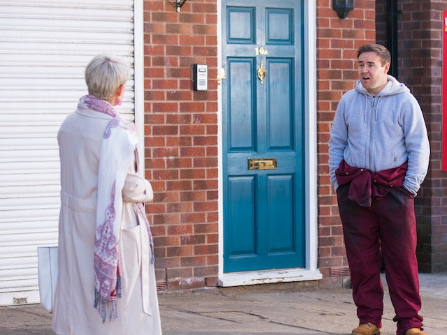Tyrone on the second episode of Coronation Street on May 19, 2021