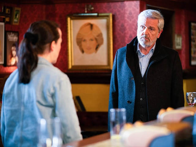 Terry Cant on EastEnders on May 20, 2021