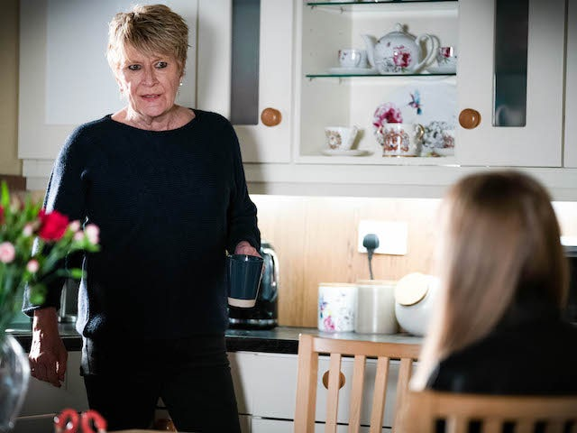 Shirley on EastEnders on May 18, 2021