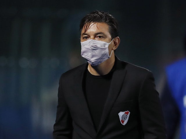 River Plate manager Marcelo Gallardo pictured on May 6, 2021