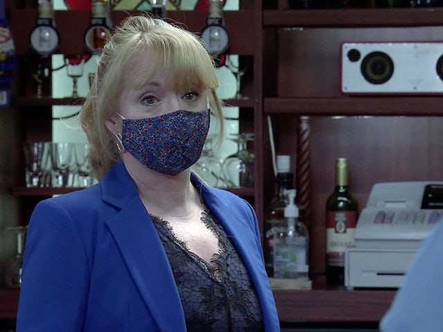 Jenny on the second episode of Coronation Street on May 17, 2021
