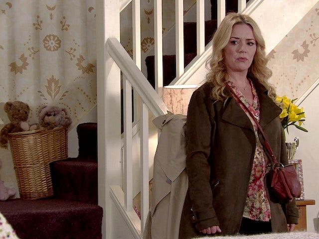 Natasha on the first episode of Coronation Street on May 17, 2021