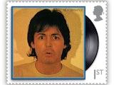 The Paul McCartney first class stamp