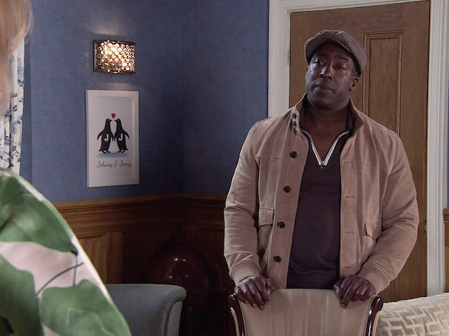 Ronnie on the first episode of Coronation Street on May 19, 2021