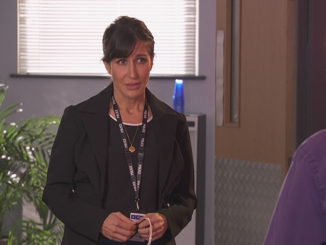 DS Cohen on Hollyoaks on May 12, 2021