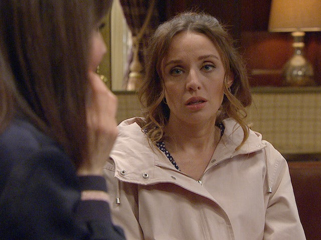 Andrea on the second episode of Emmerdale on May 27, 2021